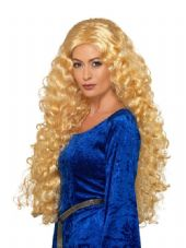Medieval Warrior Queen Wig